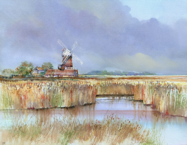 [September by Cley Mill]