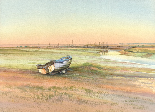 [Low Water in the Evening, Morston]