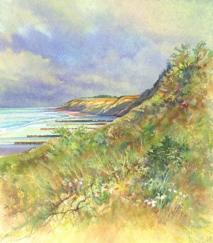 [Cliff Colours, Overstrand]