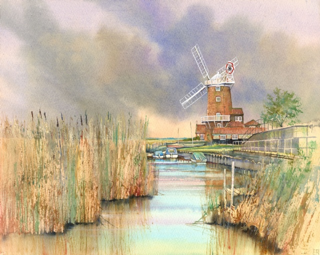 [The New Quay by Cley Mill]