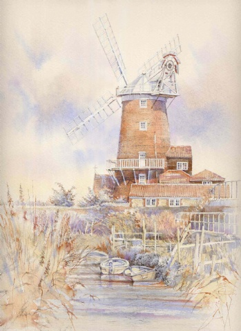 [Cley Mill from Sluice]