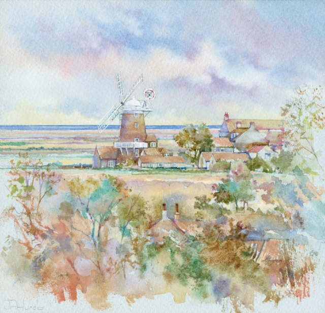 [Cley Mill from Wiveton Hall]