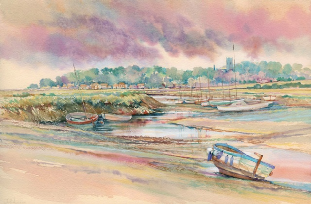 [Blakeney from Morston at Low Water]