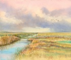 Brents Over the old marsh bridge, Salthouse