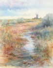 Burnham Overy Mill - Winter Light