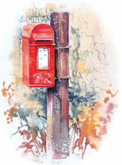 [Post box, Salthouse]